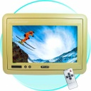Monitor - A quick and easy way of keeping the back seat drivers quiet? - mount this 7-Inch beige Headrest TFT LCD Monitor. The vibrant high quality screen will show all your movies and TV brilliantly.