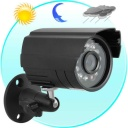 Security Camera - Mini sized Waterproof Night Vision Security Camera with 1/3 SONY CCD. Protect your home or business with this durable, high-quality outdoor security camera with advanced Sony CCD video imaging sensor.