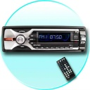 DVD-MP3-MP4 - Great Wholesale priced single DIN (1-DIN = 50mm tall) Car DVD and CD Player for transforming your normal in dash CD player into a complete digital media center.