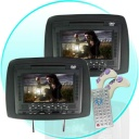 Car Video - If you do not know what to do on those long trips, and think that a In Dash DVD Player is not quite enough for you, think about buying and installing this all purpose headrest DVD Players so everyone in the back seat can enjoy movies as you drive. Features include playback of almost every format disk that you could ever want, a built in FM transmitter for sending sound directly to your cars audio system, a memory card reader and USB Slot direct play of digital media files, AV OUT and IN for auxiliary monitor and speaker connections, and even NES emulator, 2 D-pad controllers.