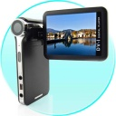 "Digital Cameras - Nice pocket-sized digital media player with a 2.5"" LCD swivel screen that also doubles as a high quality DV camcorder/camera. With 4GB of built-in flash memory, you will little worry about storage for your media or self shot movies, and coming in a convenient, compact form factor, this quality multi media player is further enhanced by a powerful feature set that provides versatile functionality for the user: take great still shots with the 2.0 megapixel digital camera, record digital video with 320x240 resolution or play a variety of digital media file types."