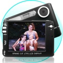 Digital Cameras - This powerful digital camera offers you three different mega pixel sizes to choose from and can shoot video at DVD Quality of up to 720x480 pixels! This camera comes with everything you need right in the box, and can support SD or MMC cards of up to 4GB. For even more fun when you are not busy taking photos and movies, try out the built in MP3 player, included mini games, a MIC recorder, web camera function, and an AV out for viewing pictures right on a TV.