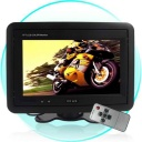 Car Monitor - A quick and easy way of keeping the back seat drivers quiet? - mount this 7-Inch Headrest TFT LCD Monitor. The vibrant high quality screen will show all your movies and TV brilliantly and an auto switch to rearview system is available when backing a car to insure the safety.
